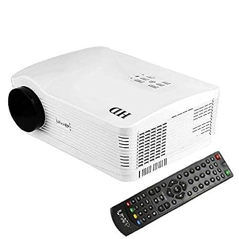 Proyector de vídeo Full HD 3000 lumens LED Home Cine Películas ...