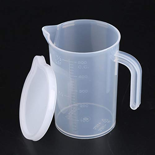 ATK Liquid Measuring Cup Jug Pour Measuring Beaker Set with Lids Spout Surface With Lid Measuring Tools Baking Kitchen ()