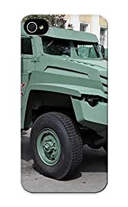 Inthebeauty Durable Defender Case For Iphone 5/5s Tpu Cover(russian Red Star Russia Army Military Kolunarmored Vehicle 4 ) Best Gift Choice