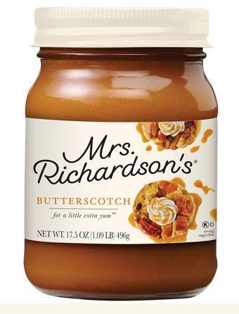 (Mrs Richardson's Butterscotch Caramel, 17 oz)