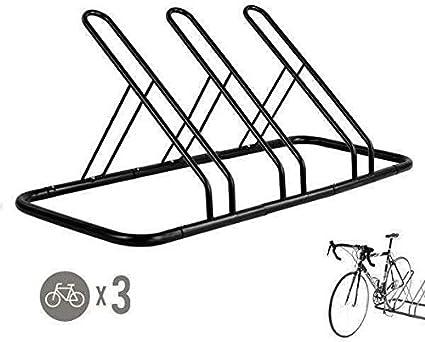 1-4 Bike Floor Parking Rack Storage Stand Bicycle,Floor Parking Organize Holder