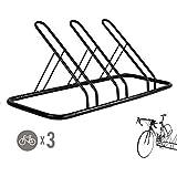 1-3 Bike Floor Parking Rack Storage Stand Bicycle