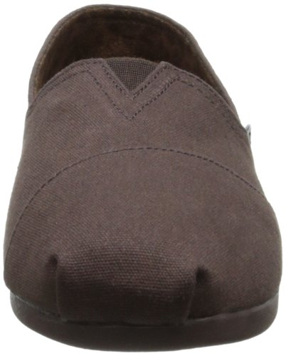 BOBS from Skechers Womens Plush Peace and Love Flat Chocolate aK0YZ