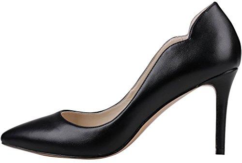 Domstol Kvinner Stiletto Tå Spiss B Slip Rosa 5cm Calaier 8 Sko På Cajust 1qBzTxzO