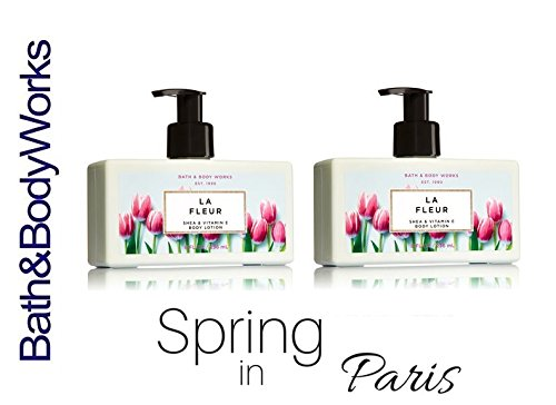 Bath & Body Works LA FLEUR Gift Set Lot of 2 Body Lotions