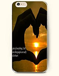 iPhone Case, SevenArc iPhone 6 (4.7) Hard Case **NEW** Case with the Design of In spite of everything , I still believe...