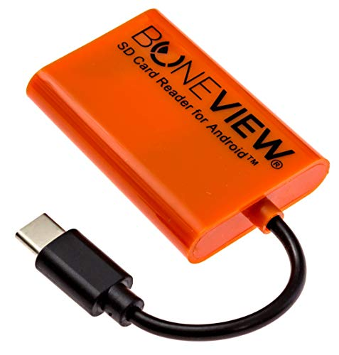 BoneView SD Card Reader for iPhone New Corded Trail Camera Viewer Plays Deer H