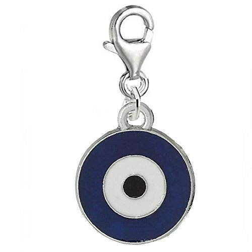 Evil Eye Lobster Clasp Clip...