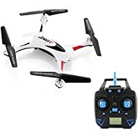 JJRC H31 6-Axis Gyro 4CH 2.4G Quadcopter, UAV, Drone, Waterproof Drone RC Quadcopter with Headless Mode and One-key Return(White)