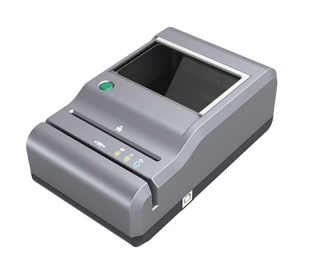 M-280 ID Card Reader with flat bed scanner and WizzForms Auto-Fill Software by IDScan.net