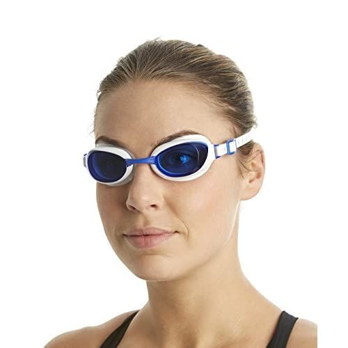 Speedo 8-090027960 Aquapure Lunettes de natation Blanc