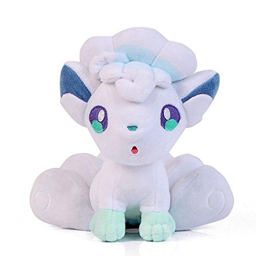Wanna2017 Alolan Alola Vulpix Plush Doll Soft Figure Stuffed Toy 7 inch Gift