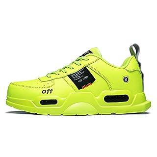 XIDISO Men's and Women's Fashion Sneakers Casual Walking Shoes Sports Jogging Sneaker for Men Neon Green