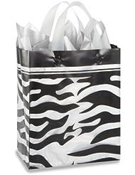 Printed Frosty Shoppers 8 X 5 X 10 Cub Zebra