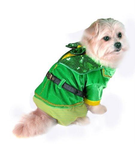 Puppe Love Leprechaun Boy Costume for Dogs (Size 5 (14