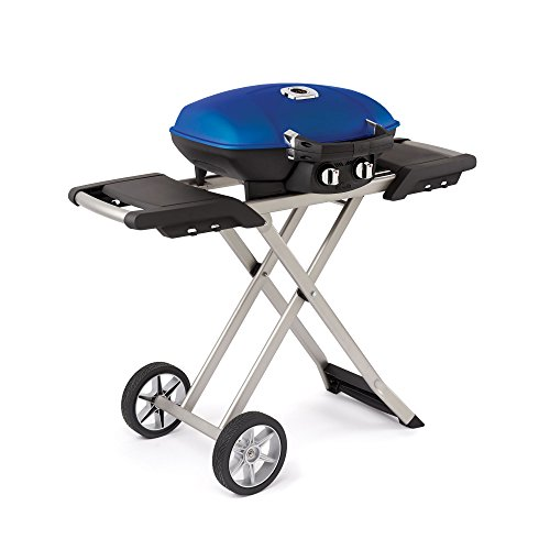 Portable Cart Gas Barbecue Grill - Napoleon TQ285X-BL Portable Propane Grill with Cart, Blue