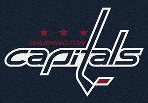 Washington Capitals Nhl Team Spirit Area Rug By Milliken  54  By 78
