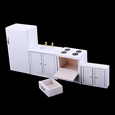 Amazon.es: IPOTCH 1/12 Juguetes Miniaturas Modelo de Muebles ...