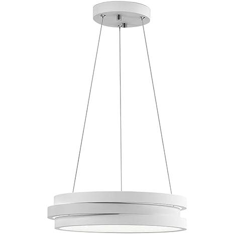 Lámpara Colgante Moderna, lámparas de araña LED Circulares ...