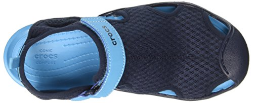 Navy Mesh Women's Sandal Swiftwater Crocs SzIw0nq