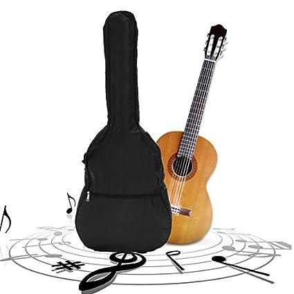 Mochila para guitarra eléctrica de 106,36 cm con doble correa, bolsa para guitarra