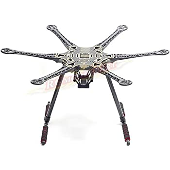 Amazon.com: Hobbypower F550 6-axis Multi-rotor Hexacopter Frame ...