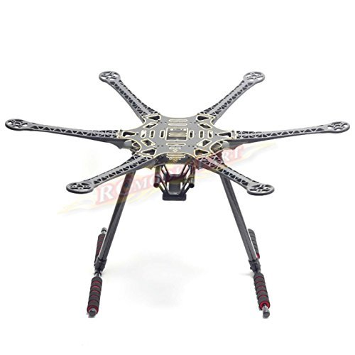 Hobbypower S550 F550 Upgrade Hexacopter Fuselage Frame Kit PCB with Carbon Fiber Landing Gear 550 Mm Carbon Fiber
