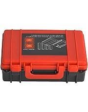 Kudoo Capa de bateria para câmera, caixa de bateria de câmera, plástico leve para fotógrafo, cartão de memória, uso de bateria de cartão SF
