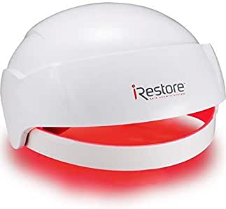 iRestore Laser Hair Growth System - FDA Cleared Hair Loss Treatments: Hair Regrowth for Men and Women with Balding, Thinning Hair Growth Products: Uses Red Light Laser Therapy Like Hair Loss Products