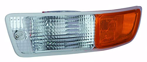 For 1998 1999 2000 Toyota Rav4 Front Parking Signal Light lamp Assembly Driver Left Side Replacement Capa Certified TO2532111