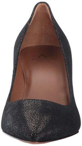 Aquatalia Women's Melina Metallic Pump Black
