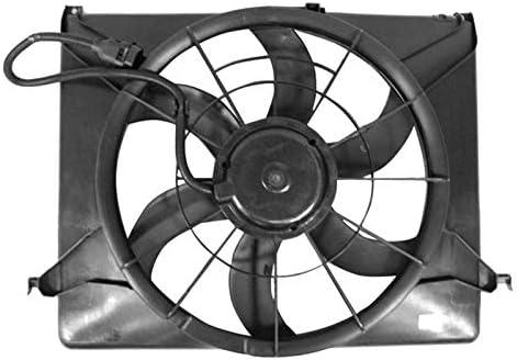 APDI 6020123 doble radiador y condensador Ventilador Montaje ...