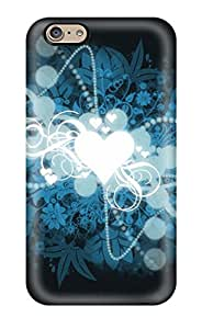 Series Skin Case Cover For Iphone 6(heart Shaped Universe Widescreen)