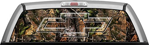 Camouflage Window Graphics For Trucks Amazoncom - Chevy rear window decals trucks