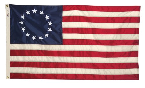 Allied Flag Outdoor Nylon Historical Banner, Betsy Ross P...
