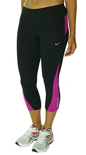 Nike Womens Printed Racer Crop 2.0Capris Pink/Black perfect sale online 6R7Bf
