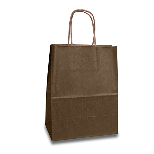 Brown Gift Bags | Quantity: 250 | Width: 16'' by Paper Mart