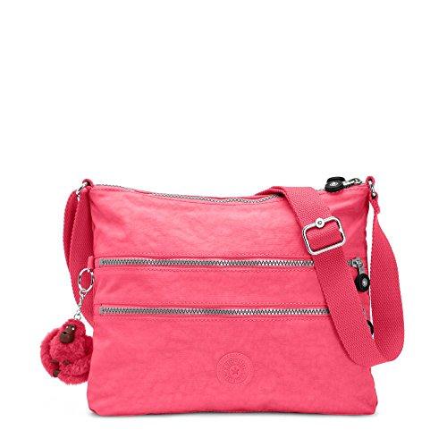 Kipling Alvar Crossbody, Vibrant Pink, One Size