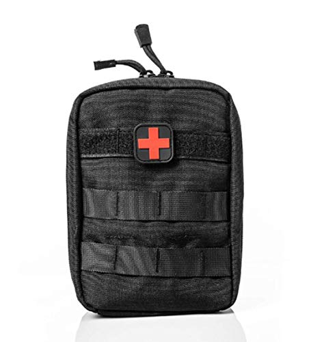 Jipemtra Tactical First Aid Bag MOLLE EMT IFAK Pouch Rip-Away Trauma First  Aid Responder Medical Backpack Utility Bag Military Tactical Backpack
