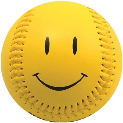 Rubber Core EnjoyLife Inc Yellow Happy Face Baseball