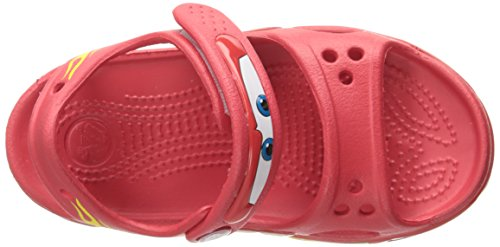 Crocs Crocband II Cars Sandal (Toddler/Little Kid), Red, 6 M US Toddler by Crocs (Image #8)