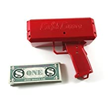The Cash Cannon Money Gun - Red by Cash Cannon