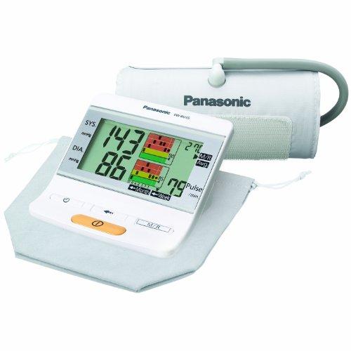 Panasonic EW-BU35W Bras moniteur de pression sanguine avec courbe de tendance