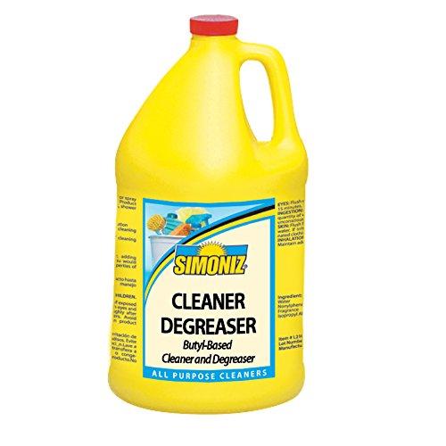 Simoniz C0600004 Cleaner Degreaser, 1 gal Bottles per Case (Pack of 4)