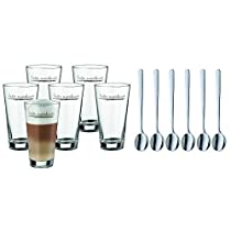 WMF AG 996269999 6-Piece Latte Macchatio Set with Spoons