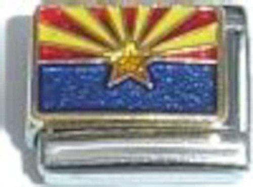 Arizona State Flag Italian Charm