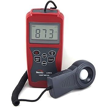 Professional Digital Light Meter LX821 for Greenhouse, Hydroponics, Gardening, Architecture, Lighting Audits