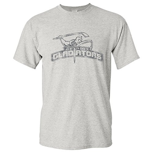 WHA Detroit Gladiators UGP Classics Basic Cotton T-Shirt - X-Large - Ash