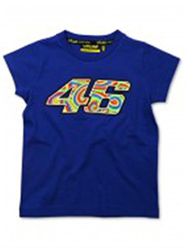 Price comparison product image Valentino Rossi Blue 46 Groovy Kids T-Shirt (Age 0-1 ,  Blue)
