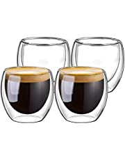 نظارات مزدوجة الجدران لقهوة اسبرسو الشاي التركي، أكواب قهوة اسبرسو 80 ml result.feed.gl_home-watch_model_number_en